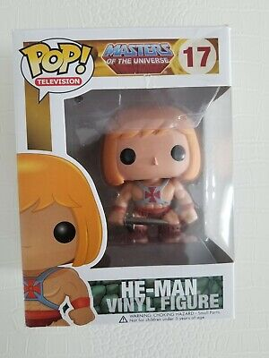 $109 • Buy He-Man Masters Of The Universe Funko Pop! #17 Rare Vaulted . Some Wear . New !