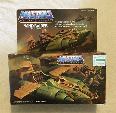 $849.99 • Buy Rare 1981 Masters Of The Universe He-Man Wind Raider Sealed Mattel No. 5117 New