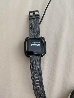 $ CDN40.22 • Buy Fitbit Versa Special Edition Charcoal Band Great Condition For P/R Please Read