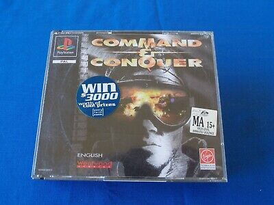 AU30 • Buy Command & Conquer Original  PS1 Playstation One Game   PAL Fat  Case