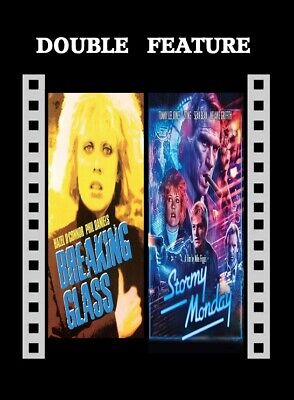 Breaking Glass ( Hazel O'Connor ) Stormy Monday ( Sean Bean Sting ) R2 Comp DVD • 12.99£