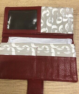 £14.99 • Buy Cellini Signature Grey White Red Purse & Wallet By Jane Shilton
