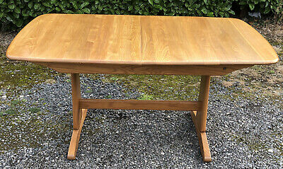 Outstanding Large Modern Ercol  Windsor Extending Table Delivery Available      • 725£
