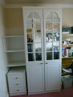 Second Hand Wardrobe Chest And Shelf Unit • 50£