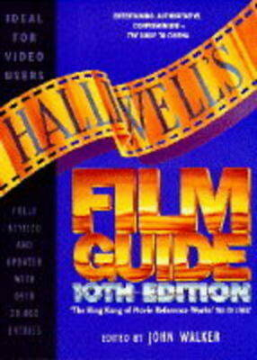 £2.48 • Buy Halliwell's Film Guide By John Walker (Paperback) Expertly Refurbished Product