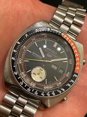 $ CDN1173.20 • Buy * Seiko Chronograph JDM Pogue Coke Bezel 6139-6031 PROOF DIAL Japanese Stelux