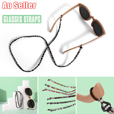 AU7.99 • Buy 6 Pcs Colorful Sunglasses Strap Eyeglass Chain Reading Glasses Holder Neck Cord