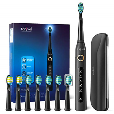 Sonic Toothbrush, Electric Sonic Toothbrush With 5 Modes 4 Hours Charge Support • 31.08£