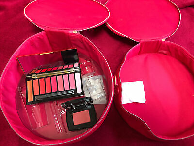 Lancome Set - Rouge Holiday 2019 Lip Palette With Brush & Blush 351 And Bag • 22£