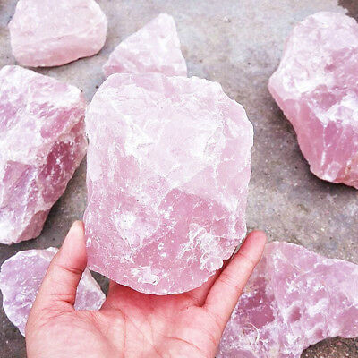 £2.44 • Buy Natural Pink/Rose Quartz Crystal Stone Rock Mineral Specimen Healing Collectible