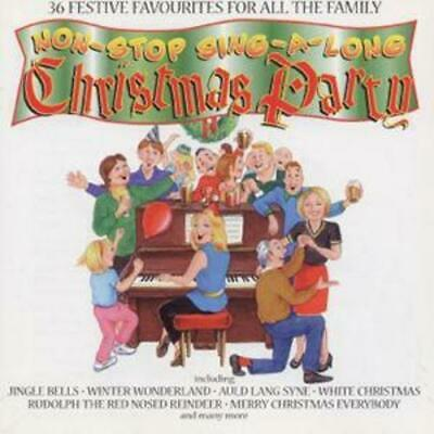 Various Artists : Non-Stop Sing Along Christmas Party CD (1996) Amazing Value • 1.70£