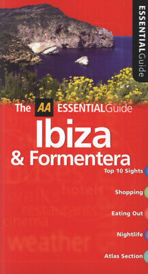 AA Essential Guide: Ibiza & Formentera By Richard Sale (Paperback / Softback) • 2.49£