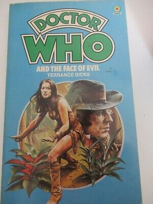 Doctor Who And The Face Of Evil Paperback Book By Terrance Dicks 1978 • 6£
