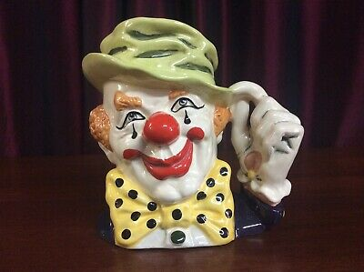 Royal Doulton D6834 The Clown Large Character Jug • 34.50£