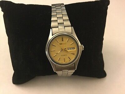 Vintage Ladies Seiko 5 Watch Automatic Stainless Steel Bracelet • 85£