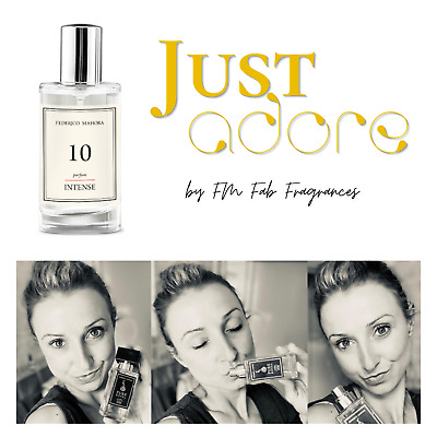 FM 10 Pure Intense Collection Federico M Perfume For Women 50ml IN STOCK! UK • 18£