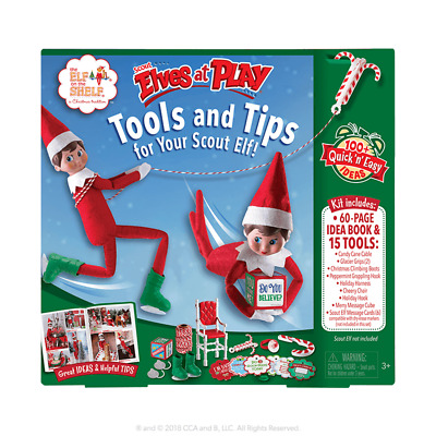 AU49.95 • Buy Elf On The Shelf Pets-Scout Elves At Play