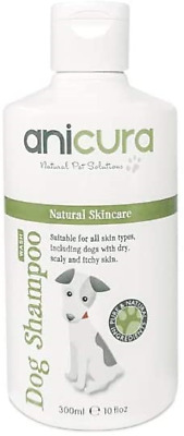 Anicura Natural Dog Shampoo For Skin Allergies, Itchy, Dry & Sensitive Skin • 18.53£