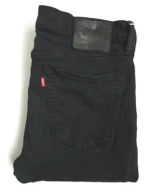 Levi's 519 Jeans Men's Stretch Extreme Skinny Fit W36 L32 Black Levr978 • 42.99£