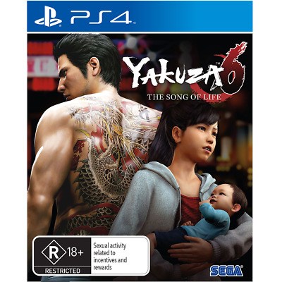 AU38 • Buy Yakuza 6: The Song Of Life Preowned - PlayStation 4 - PREOWNED