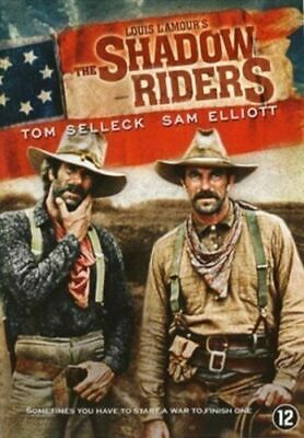 The Shadow Riders Tom Selleck Sam Elliott Louis Lamour Rare Dutch Import Dvd • 9.99£