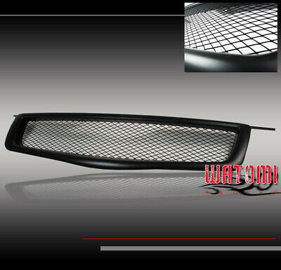 $81.95 • Buy Front Upper Hood Mesh Grille Grill Insert Black Abs For 04 05 06 Maxima Se Sl