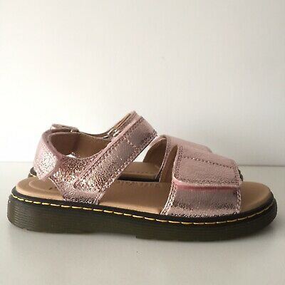 $ CDN77.06 • Buy Dr Martens Sandals Romi Youth Size 5 Pink Iridescent