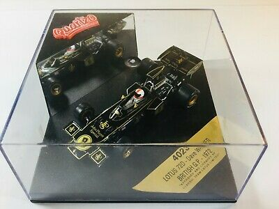 Quartzo 1:43 Scale 4023 F1 Formula 1 Lotus 72d Jps Dave Walker British Gp 1972 • 14.95£