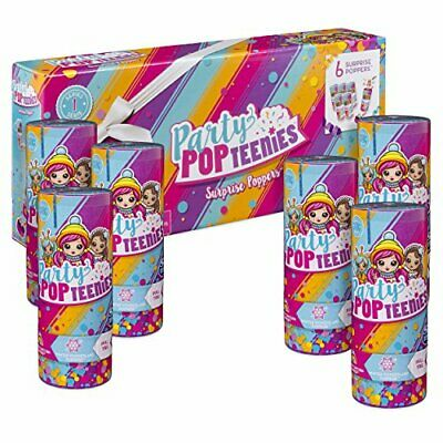 Party PopTeenies 6045464 Toy Poppers Pack Of 6 • 33.39£
