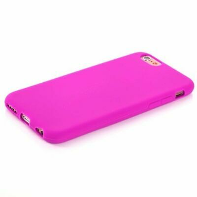 Case Cover Silicone TPU Fuchsia For Samsung S8530 Wave 2 • 7.18£