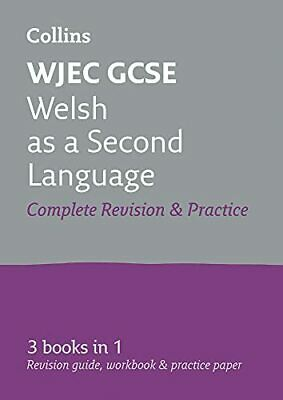 WJEC GCSE Welsh As A Second Language All-in-One Complete Revi... By Collins GCSE • 9.99£