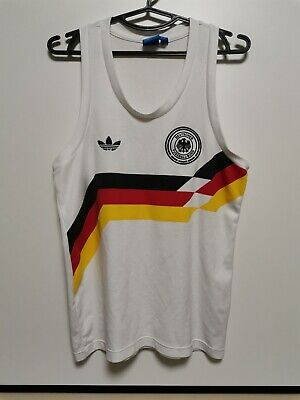 Size Xs Germany Retro Replica 1988-1990 Home Football Shirt Jersey Sleeveless • 30£