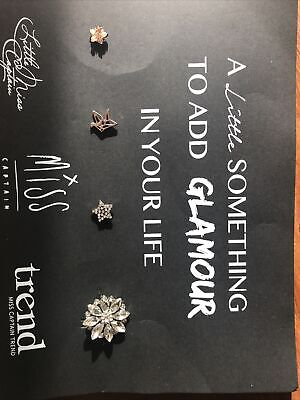 Captain Tortue Accessories Sparkly Brooches (4)  • 11.99£