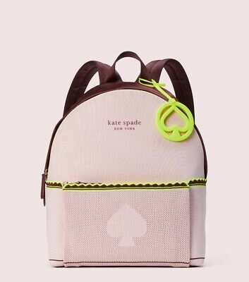 $ CDN172.46 • Buy Kate Spade Sport Knit City Pack Large Backpack Tutu Pink New With Tags!