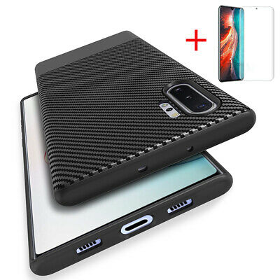 Case For Huawei P30 P20 Mate 20 Pro Lite Slim Silicone Carbon Shockproof Cover • 3.99£