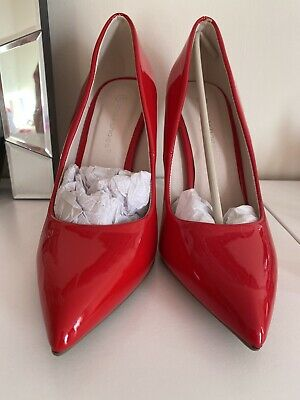 Brand New Missguided Red Heel Shoes Size 5 • 18£
