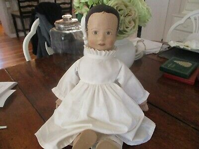 $ CDN83.63 • Buy Vintage Cloth Victorian Doll/signed And Dated. Hand Painted Face. Nicely Done.