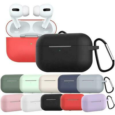 AU3.90 • Buy Shockproof Headphone Case Silicone Cover Gel Skin Clip For Apple AirPods Pro 1 2