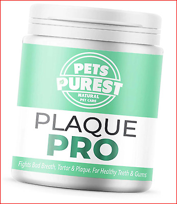 Pets Purest 100% Natural Plaque Off, Plaque Remover & Tartar Remover For Dogs, & • 12.16£