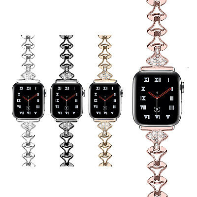 AU18.99 • Buy 40/44mm Slim Stainless Steel Band Women Bracelet Strap For Apple Watch 6 5 4 3 2
