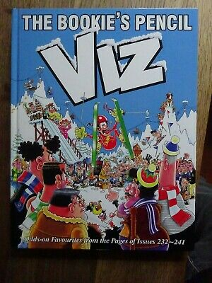 VIZ Annual The Bookies Pencil From Issues 232-241 Adults Only • 6.50£