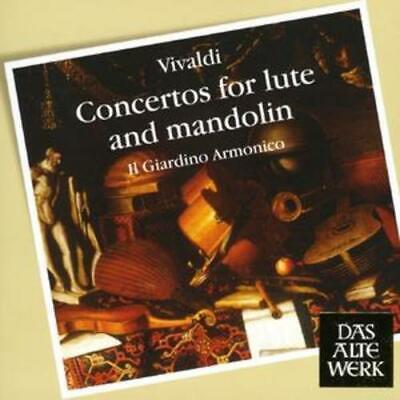 Antonio Vivaldi : Concertos For Lute And Mandolin (Il Giardino Armonico) CD • 5.99£