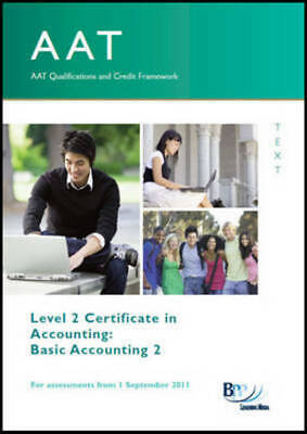 AAT - Basic Accounting 2: Study Text By BPP Learning Media (Paperback / • 5.98£