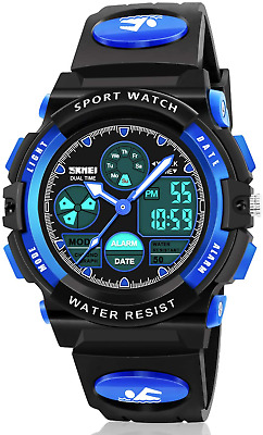 Boy Digital Watch Gifts For 5-15 Year Old Boys Girl Teen, Sports Watch Toys For • 15.94£