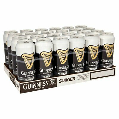 Guinness Draught SURGER Cans 24 X 520ml - 4.2% ABV • 75.95£