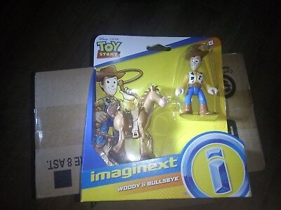 Imaginext Toy Story - Woody And Bullseye *BRAND NEW* • 4.99£