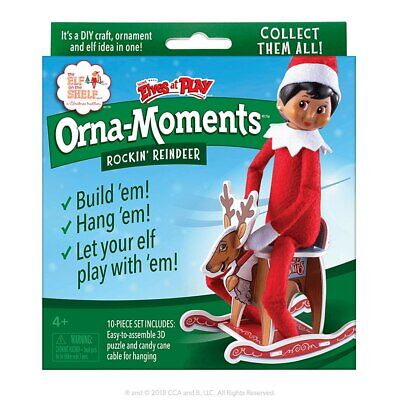 AU18.95 • Buy Elf On The Shelf-Scout Elves At Play - Orna-Moments Rockin' Reindeer