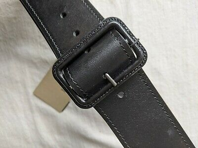 Burberry Black Leather Belt - 85cm • 80£
