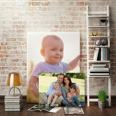 £7.99 • Buy Your Photo Picture On Canvas Print A0 A1 A2 A3 A4 A5 Box Framed Ready To Hang