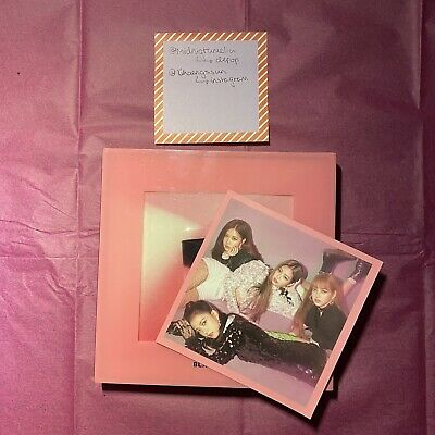 Blackpink Square Up Album With Group Postcard (+ Freebie Stickers) • 12£